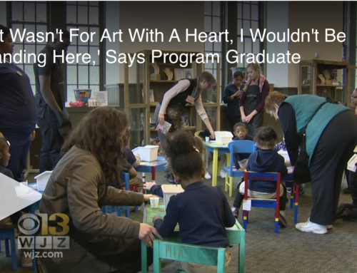 'If It Wasn't For Art With A Heart, I Wouldn't Be Standing Here,' Says Program Graduate (WJZ)
