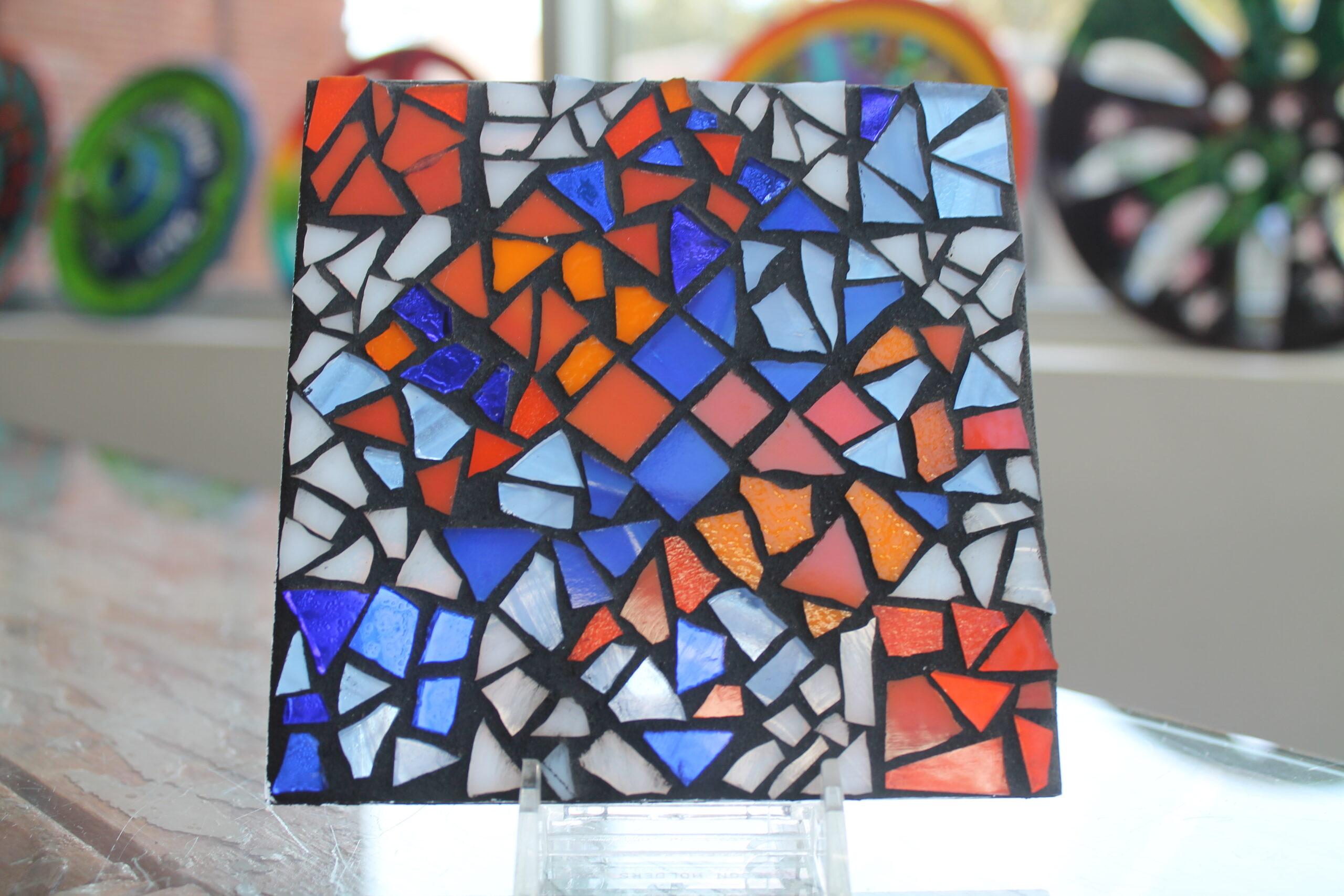 Acrylic Mosaic Coaster HeART Kit