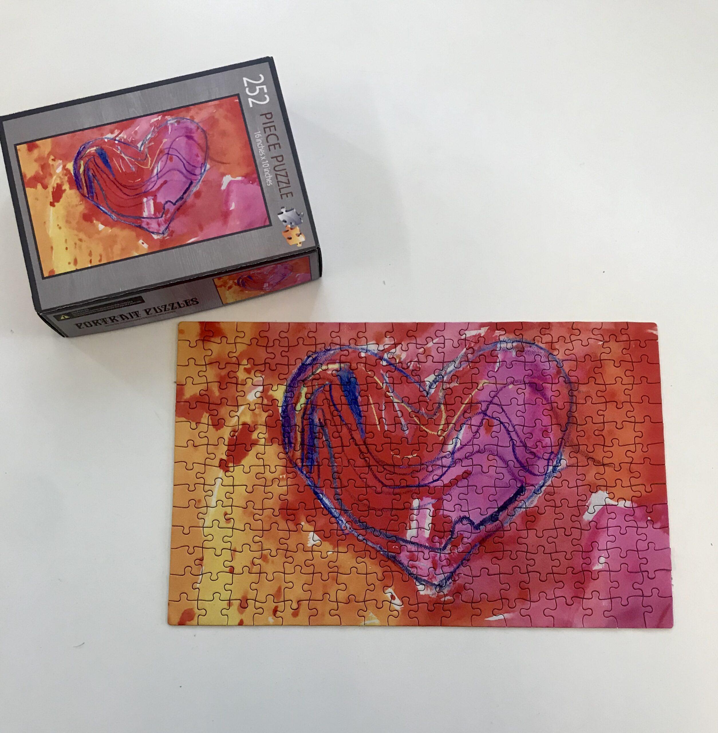 30 Piece Heart Puzzle