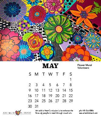 2021 May Calendar Page