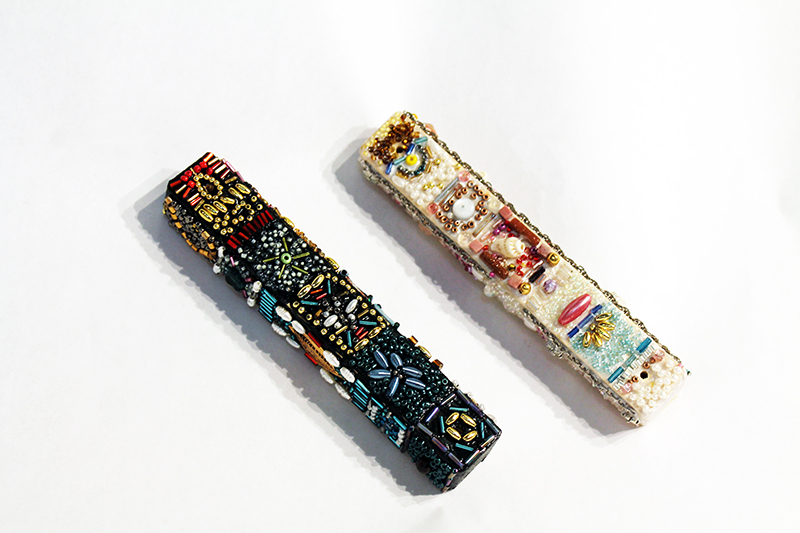 Beaded Mezuzah Kit