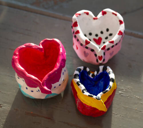 Pinch Pot Heart Kit