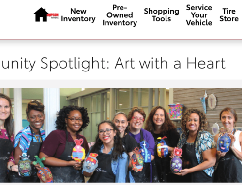 Thompson Toyota puts Art with a Heart in the Spotlight