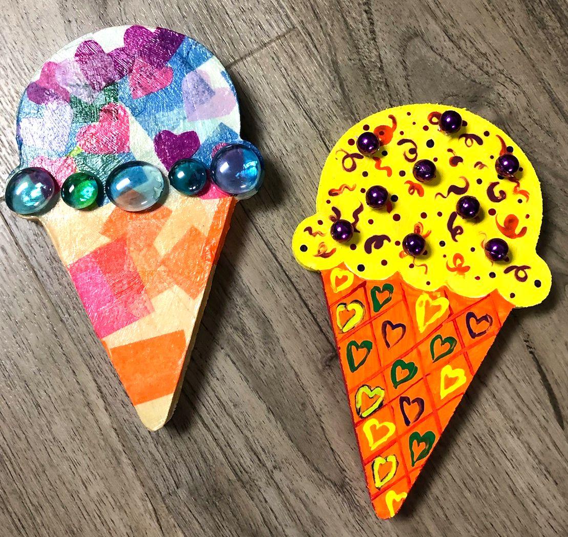 Ice Cream Cone HeART Kit