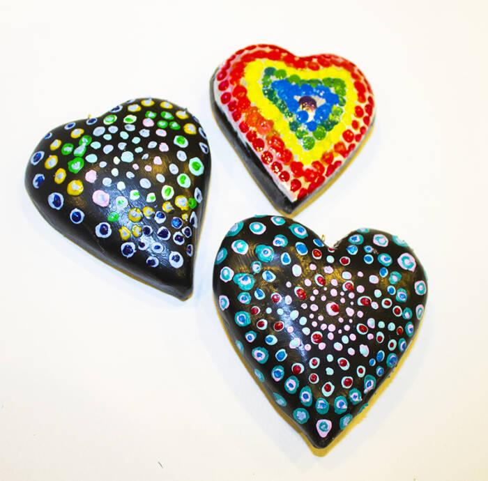 Mandala Hearts HeART Kit