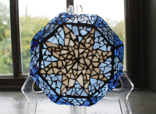 Mosaic Glass Plate HeART Kit
