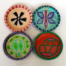 Adinkra Coasters