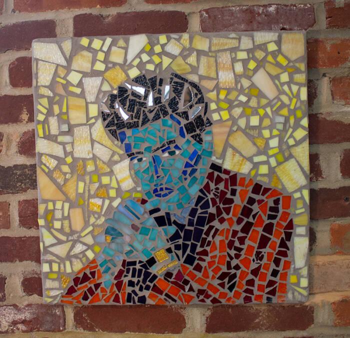 Elvis Presley Mosaic