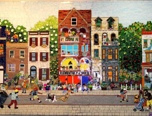 Baltimore Mosaic Adorns Foundation Office