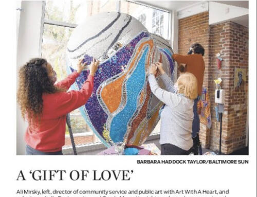"""Heart of Baltimore"" Featured in the Sunday Sun"
