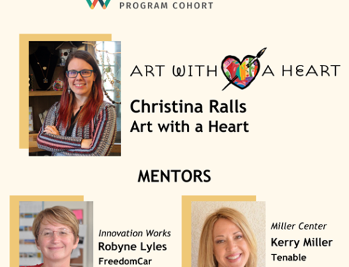 Art with a Heart's Ralls Selected to GSBI® Accelerator Cohort