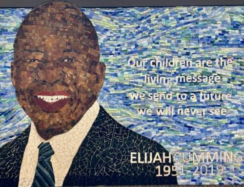 Elijah Cummings Memorialized in Community Mosaic